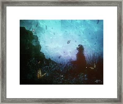 Shattered Memories Framed Print