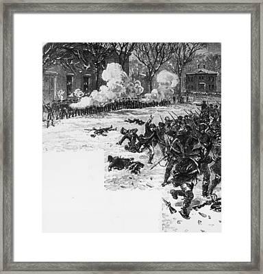 Shays Rebellion Framed Print by Hulton Archive