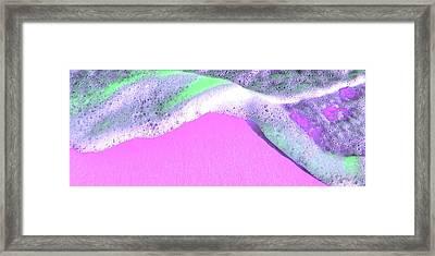 Sherbet Shores Framed Print