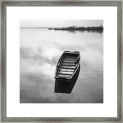 Framed Print featuring the photograph Shine On You Crazy Diamond by Davor Zerjav