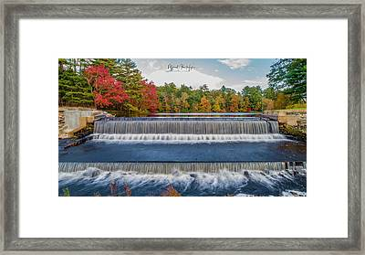 Framed Print featuring the photograph Shining Bright  by Michael Hughes