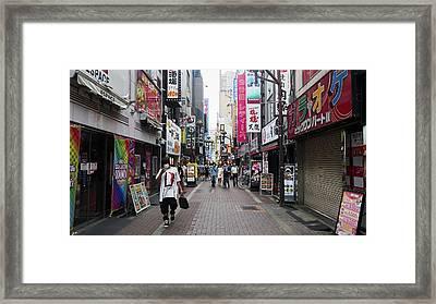 Shinjuku Framed Print