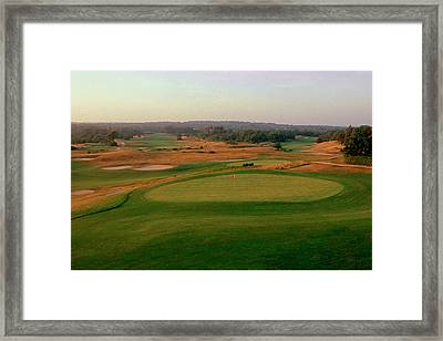 Shinnecock Hills Golf Course  -  9th Framed Print