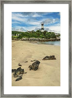 Shroove Lighthouse Framed Print
