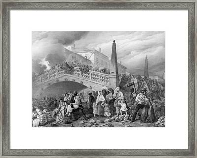 Siege Of Venice Framed Print by Hulton Archive