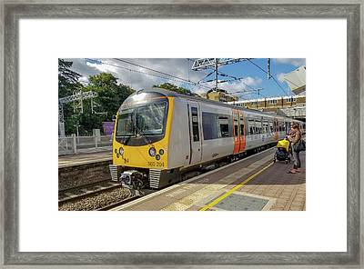 Siemens Mobility 360 Desiro Heathrow Connect Train Framed Print