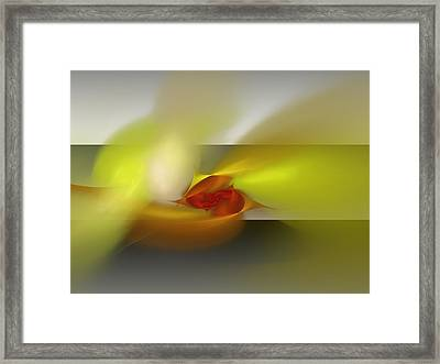 Signals Through The Flames Framed Print