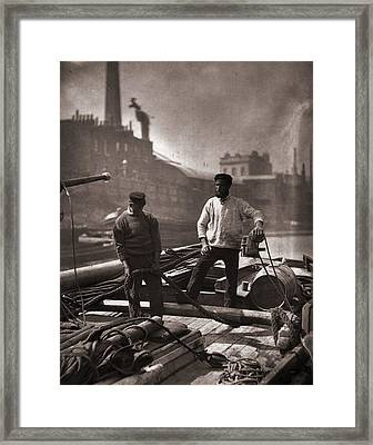 Silent Highway Framed Print by John Thomson