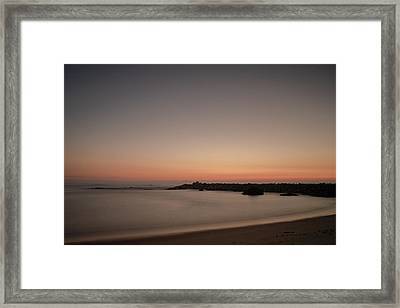 Framed Print featuring the photograph Silhouette by Bruno Rosa