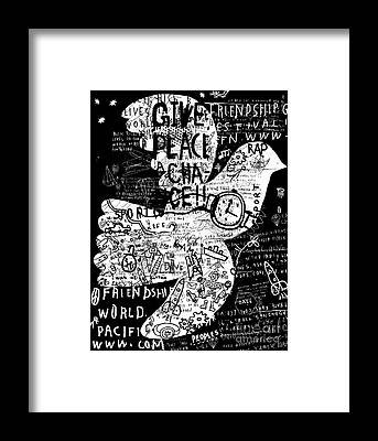 Schematic Framed Prints