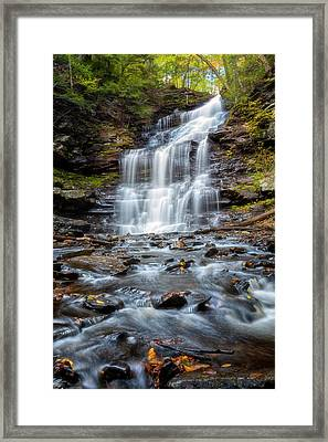 Silky Flow Framed Print