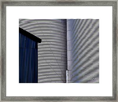 Silo Door Framed Print