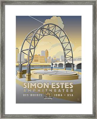 Simon Estes Amphitheater Framed Print