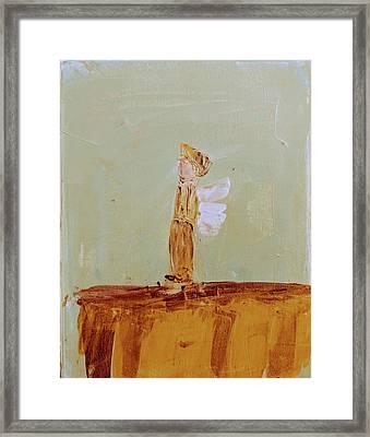 Simply Sweet Angel Boy Framed Print