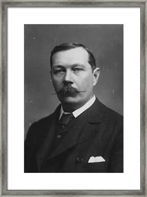 Sir Arthur Doyle Framed Print by Hulton Archive