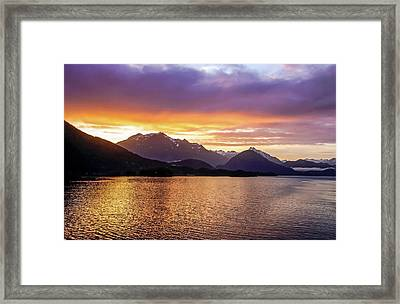 Sitka Sunrise Framed Print