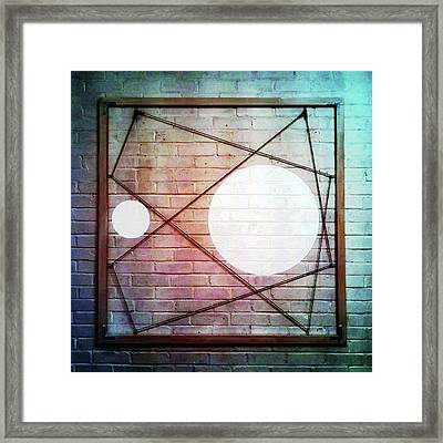 Six - Wall Framed Print