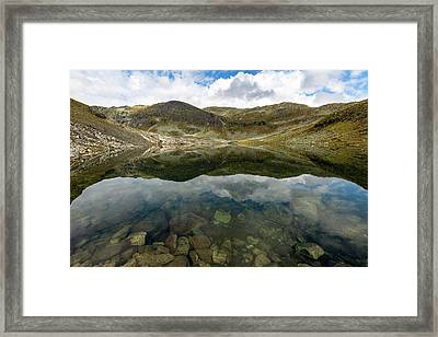 Framed Print featuring the photograph Skarsvotni, Norway by Andreas Levi