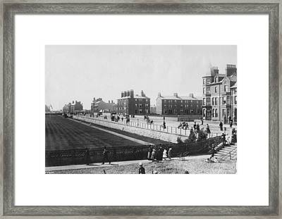 Skegness Parade Framed Print by Francis Frith