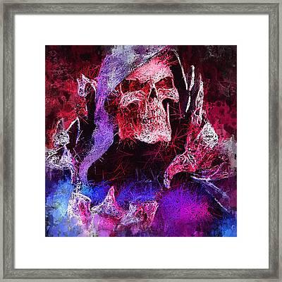 Skeletor Framed Print