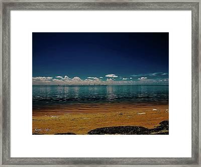 Sky Way Framed Print
