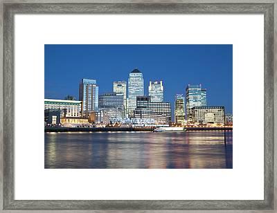 Skyline, London, U.k Framed Print by John Harper