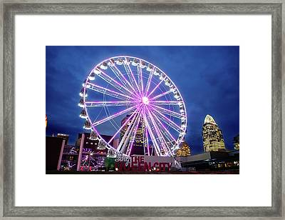 Skystar Ferris Wheel Framed Print