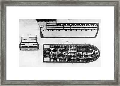 Slave Ship Framed Print by Hulton Archive