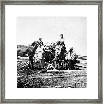 Slaves Framed Print by Archive Photos