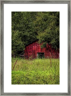 Small Barn 2 Framed Print