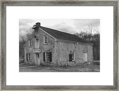 Smith's Store - Waterloo Village Framed Print