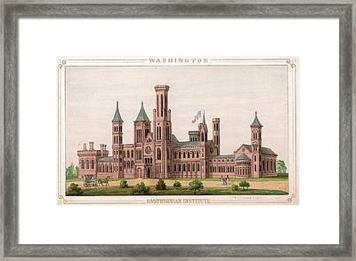 Smithsonian Institute Framed Print by Hulton Archive