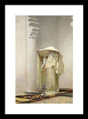 John Singer Sargent Framed Prints
