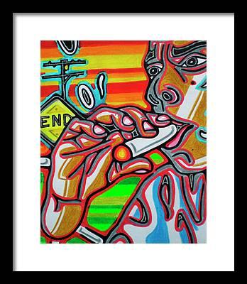 Smokin Framed Prints