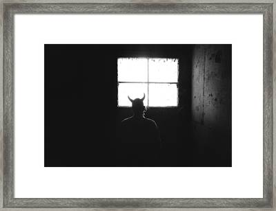 Framed Print featuring the photograph Smoking Lounge by Carl Young