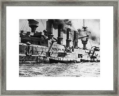 S.m.s Scharnhorst Framed Print by Fotosearch