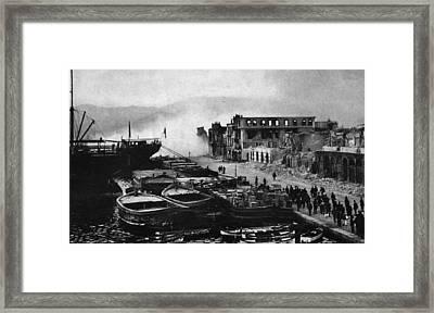 Smyrna Framed Print by Hulton Archive