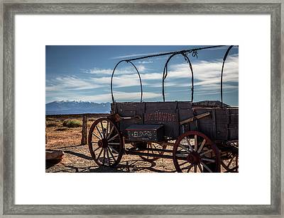 Framed Print featuring the photograph Snake Oil by David Morefield