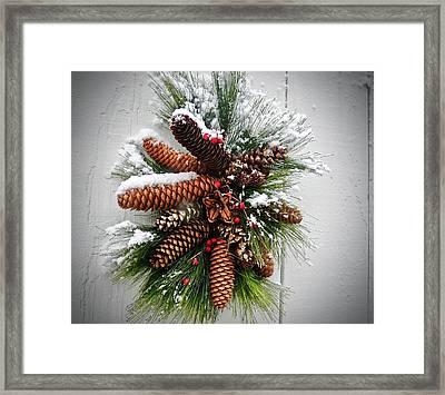 Snow Cones Framed Print