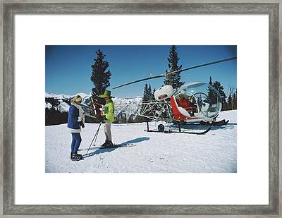 Snowmass Village Framed Print