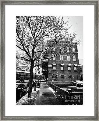 Snowy Northampton, Part 2 Framed Print by JMerrickMedia