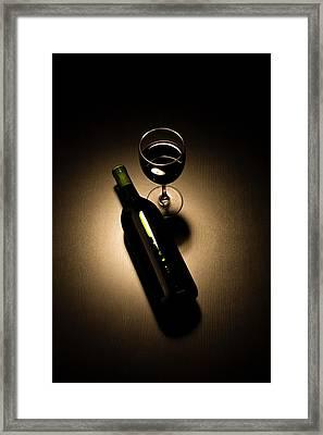Social Drinker Framed Print by Halbergman