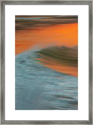 Soft Wave Framed Print