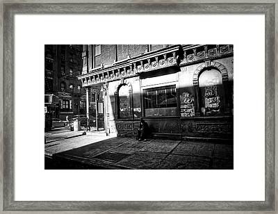 Solitary Man Framed Print