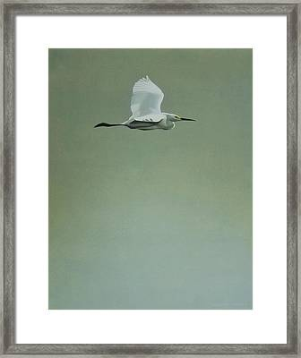 Framed Print featuring the painting Solitude by Peter Mathios
