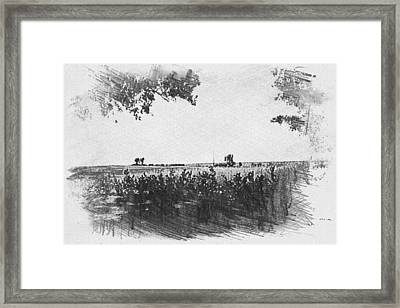 Framed Print featuring the photograph Somme Sketch by JLowPhotos