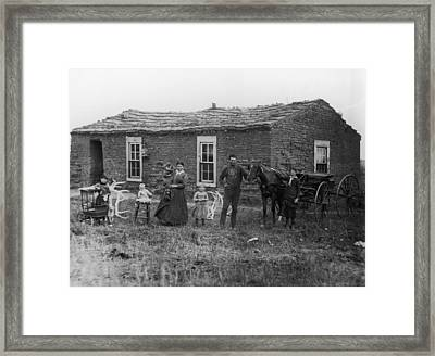 Sommers Family Framed Print by Fotosearch