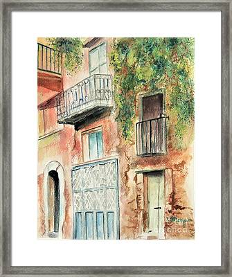 Sorrento Charm Framed Print