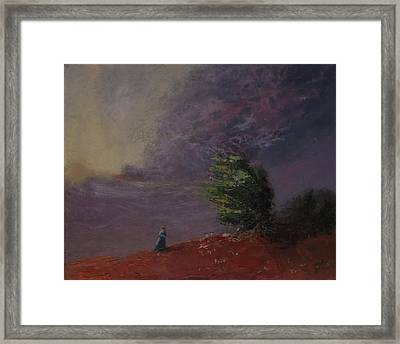 Sorrow Framed Print by Irena Jablonski