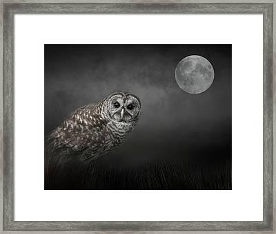 Soul Of The Moon Framed Print